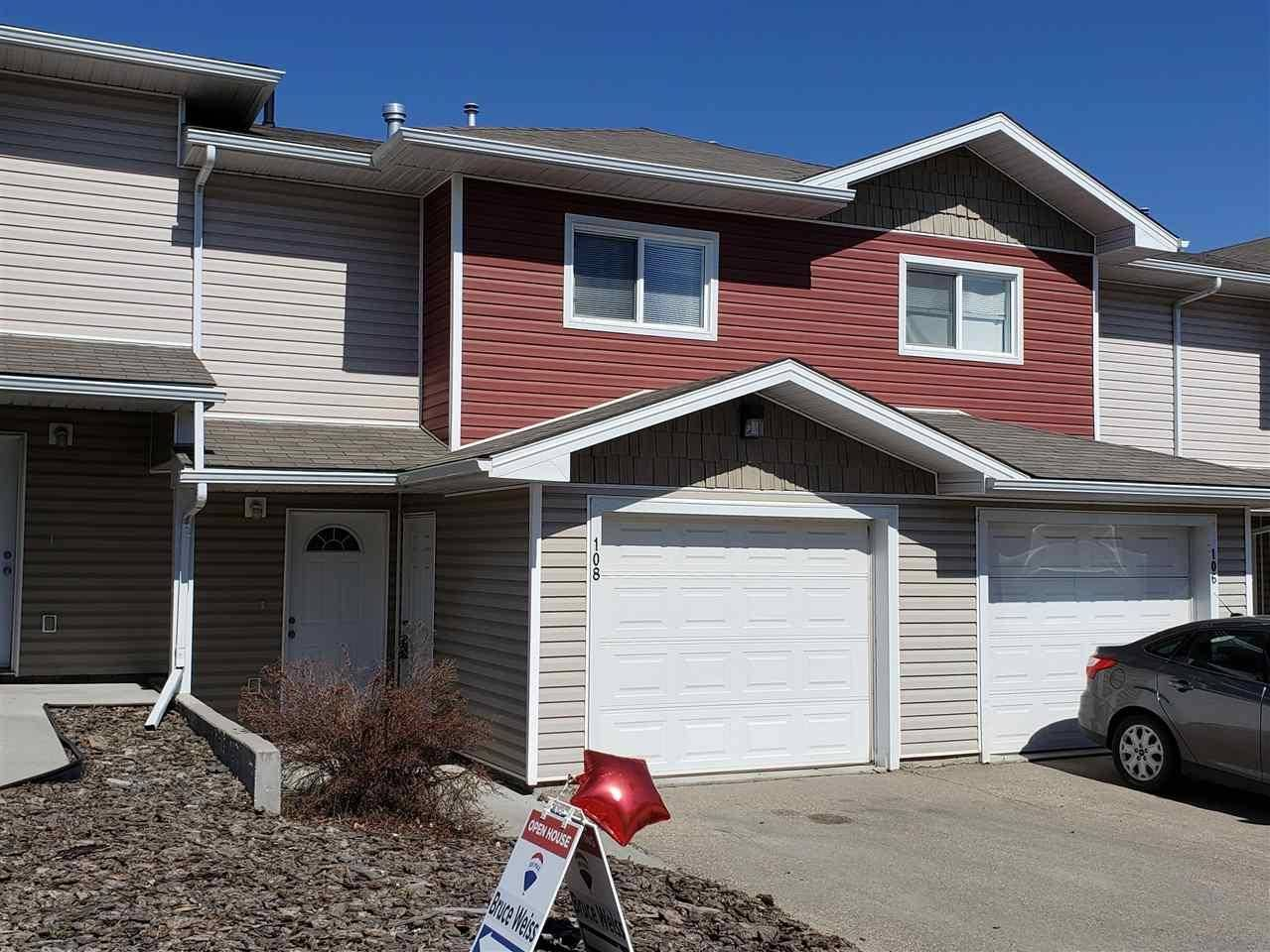 Townhouse for sale at 166 Bridgeport Blvd Unit 108 Leduc Alberta - MLS: E4158539