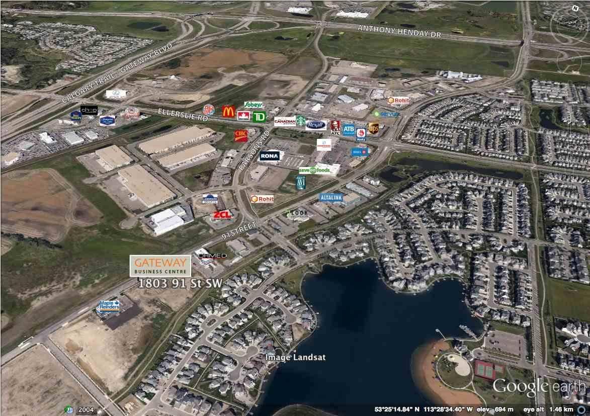Commercial property for sale at 1803 91 St Sw Unit 108 Edmonton Alberta - MLS: E4170469
