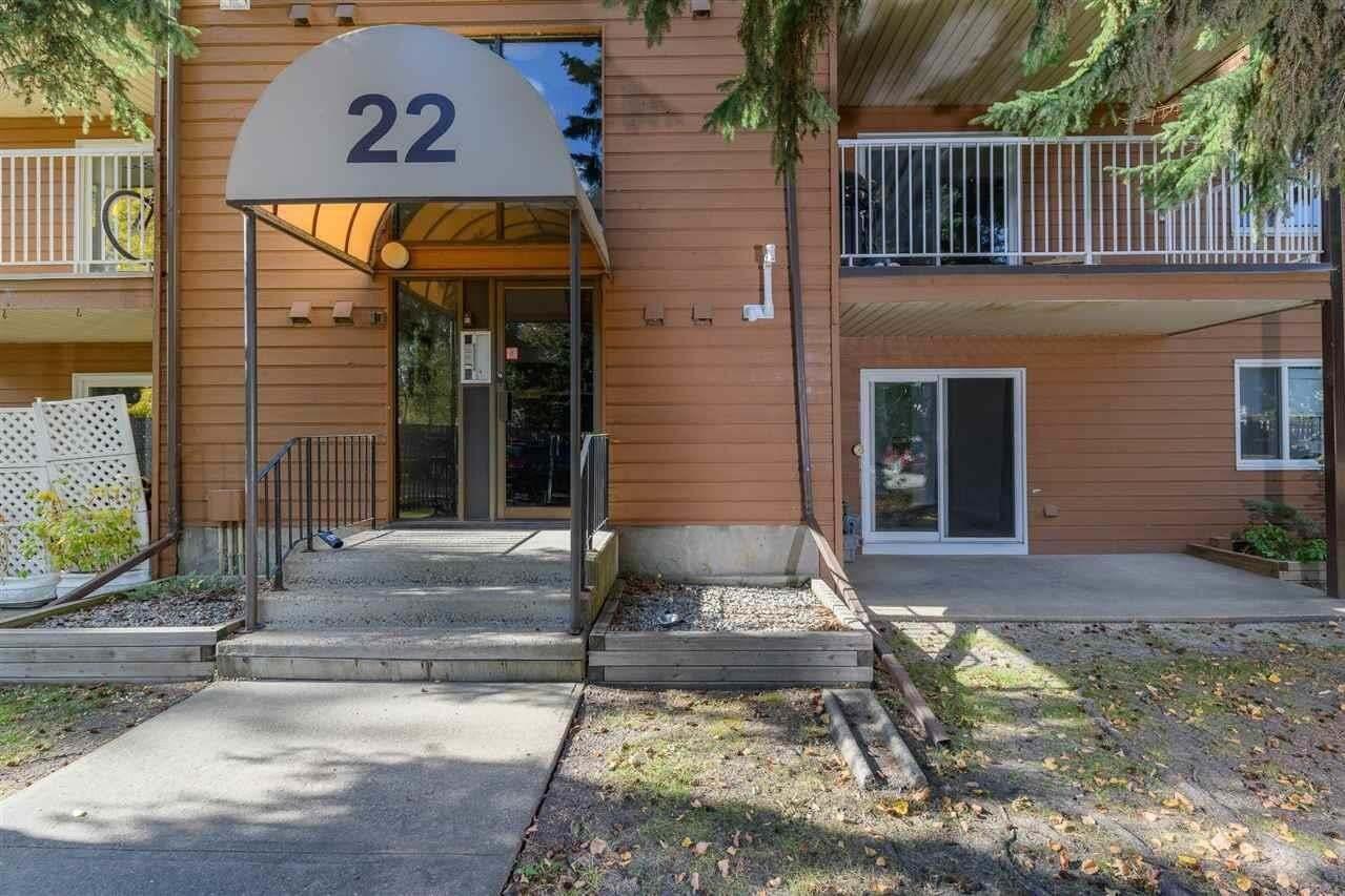 Condo for sale at 22 Alpine Pl Unit 108 St. Albert Alberta - MLS: E4215226