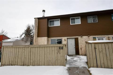 Townhouse for sale at 5404 10 Ave Southeast Unit 108 Calgary Alberta - MLS: C4286352