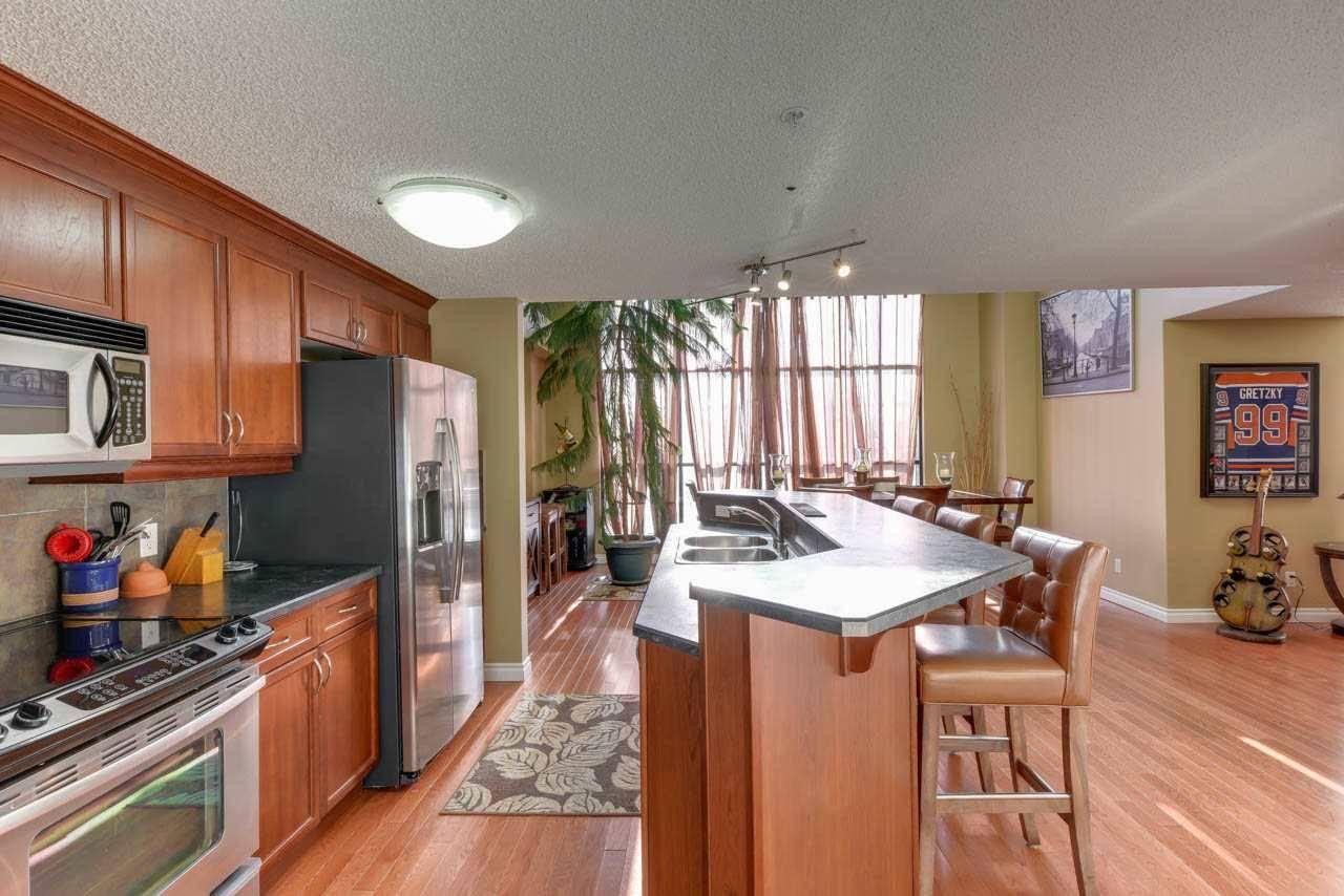 Condo for sale at 9020 Jasper Ave Nw Unit 108 Edmonton Alberta - MLS: E4169570