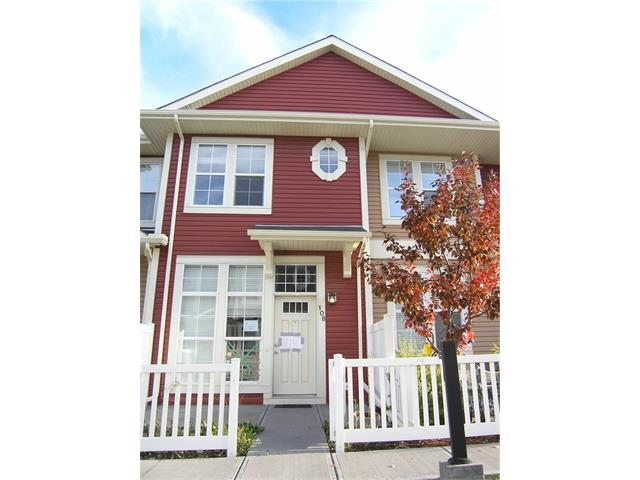 For Sale: 108 Auburn Bay Common Southeast, Calgary, AB | 2 Bed, 3 Bath Townhouse for $269,900. See 14 photos!