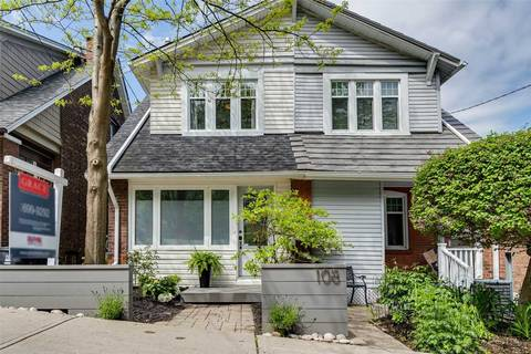 Townhouse for sale at 108 Bellefair Ave Toronto Ontario - MLS: E4481679