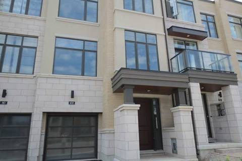 Townhouse for rent at 108 Carrville Woods Circ Vaughan Ontario - MLS: N4507504