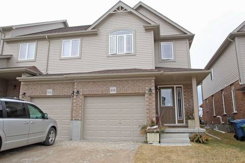 Townhouse for sale at 108 Drone Cres Guelph Ontario - MLS: X4693365