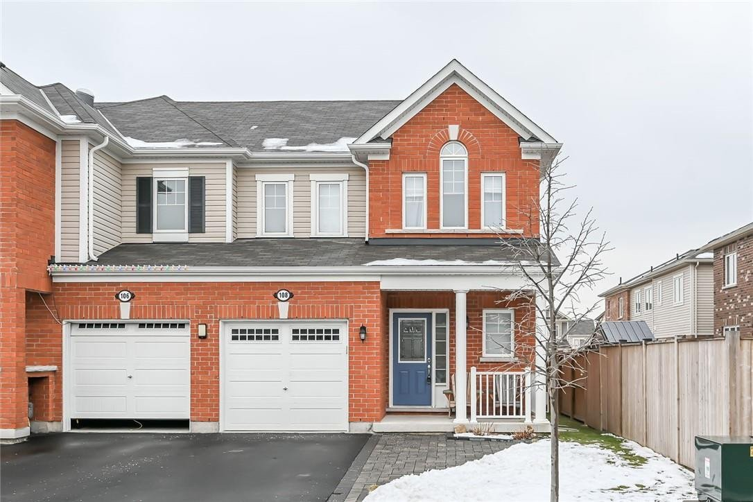Townhouse for sale at 108 Mcmonies Dr Waterdown Ontario - MLS: H4095725