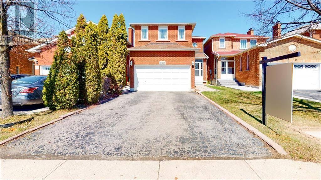 House for sale at 108 Michigan Ave Brampton Ontario - MLS: 30801112