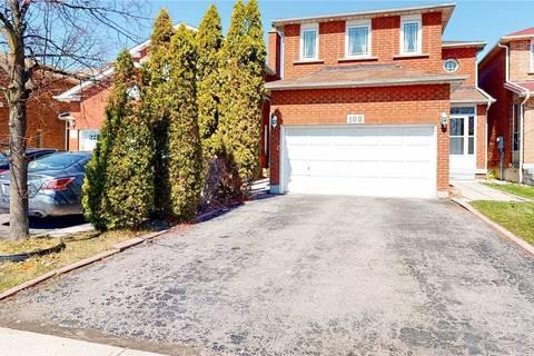 House for sale at 108 Michigan Ave Brampton Ontario - MLS: W4735721