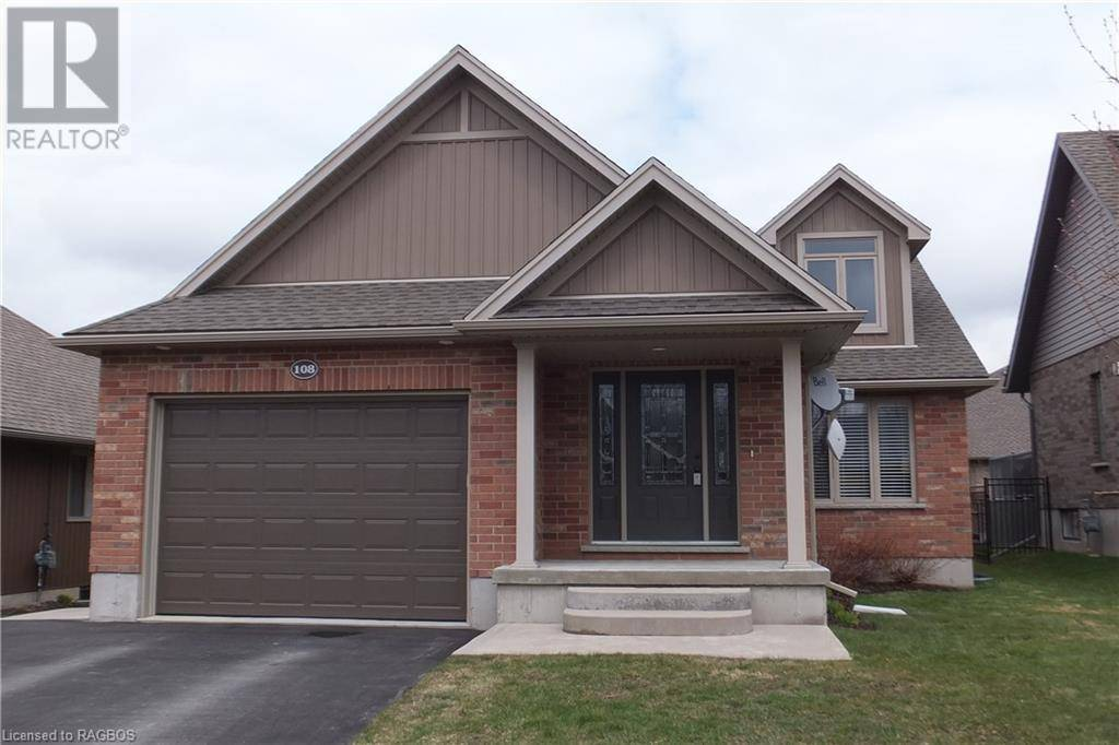 House for sale at 108 Ruby's Cres Mount Forest Ontario - MLS: 247409