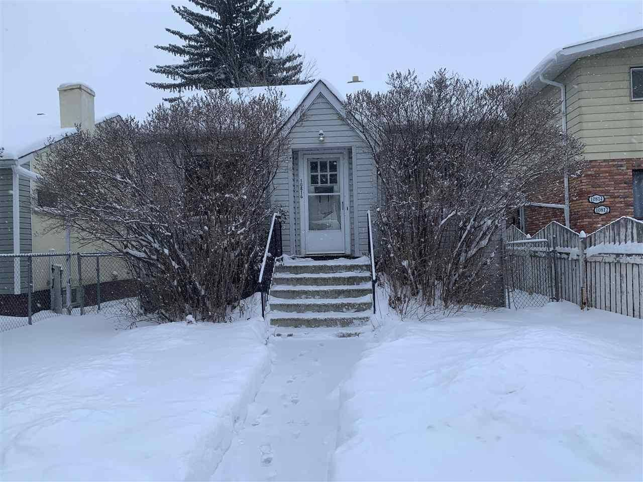 House for sale at 10816 72 Ave Nw Edmonton Alberta - MLS: E4185122