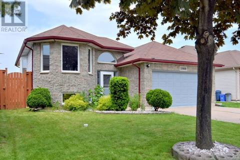 House for sale at 10860 Brentwood Cres Windsor Ontario - MLS: 19019512