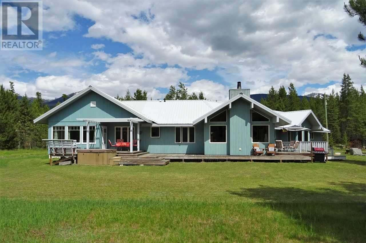 House for sale at 1087 Cranberry Lake Rd Valemount British Columbia - MLS: R2470960