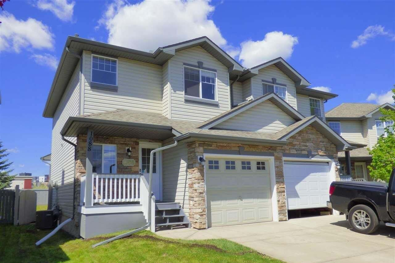 Townhouse for sale at 1088 Barnes Wy SW Edmonton Alberta - MLS: E4198994