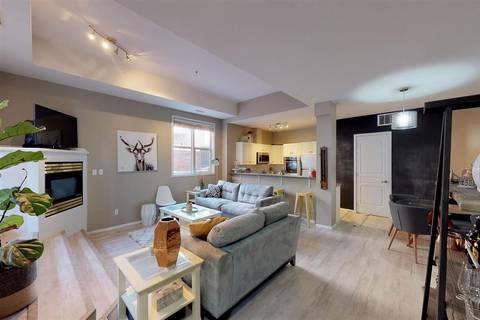 Condo for sale at 10728 82 Ave Nw Unit 109 Edmonton Alberta - MLS: E4153231