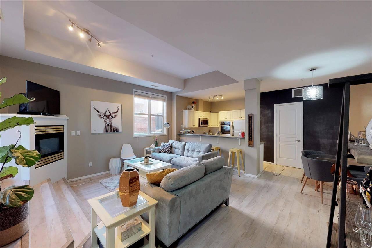 Condo for sale at 10728 82 Ave Nw Unit 109 Edmonton Alberta - MLS: E4176617