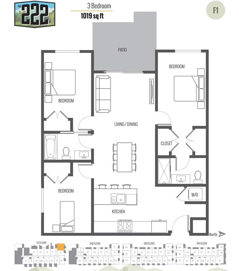 Maple Ridge Apartments: 12320 222 Street, Maple Ridge