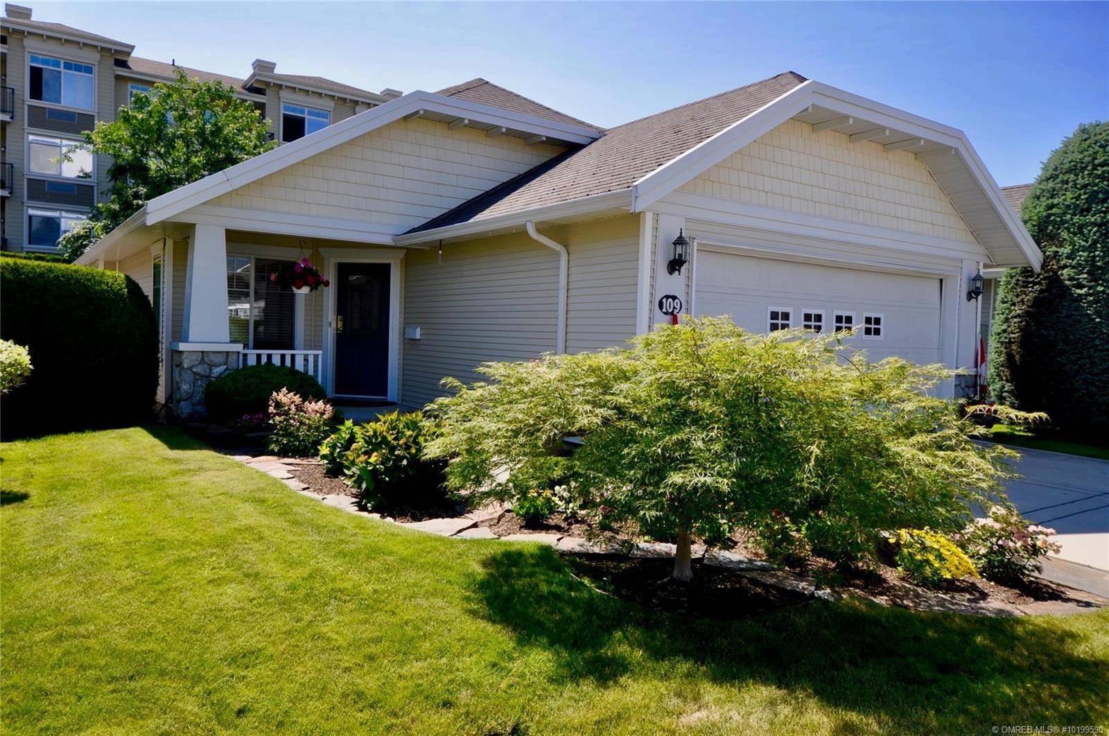 House for sale at 1330 Ridgeway Dr Unit 109 Kelowna British Columbia - MLS: 10199590