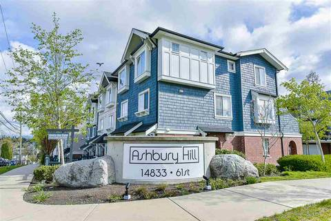 Townhouse for sale at 14833 61 Ave Unit 109 Surrey British Columbia - MLS: R2414177