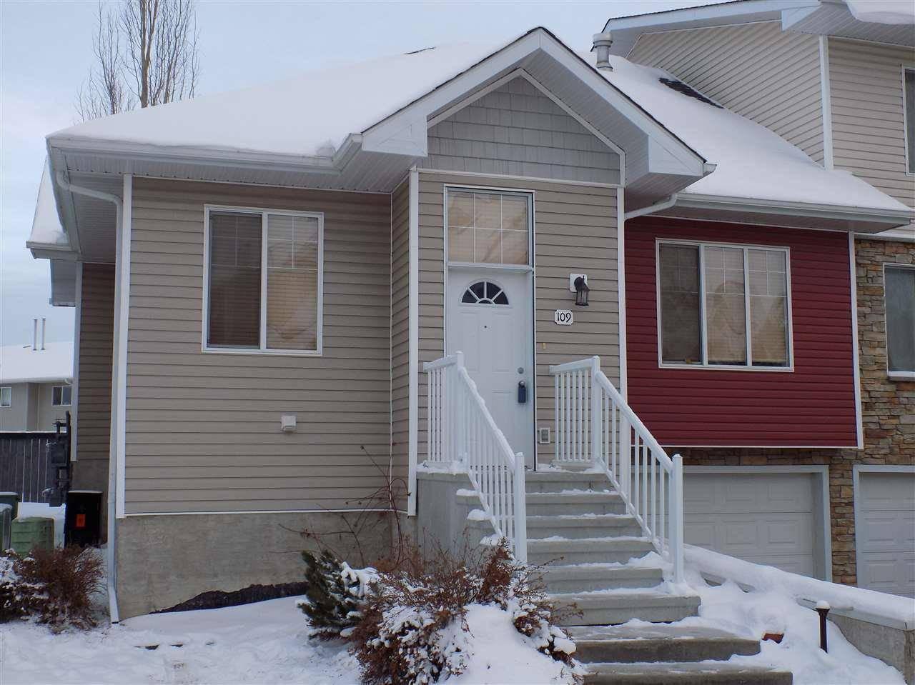 Townhouse for sale at 178 Bridgeport Blvd Unit 109 Leduc Alberta - MLS: E4184212