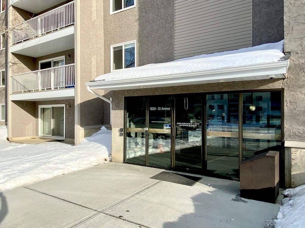 Condo for sale at 18204 93 Ave Nw Unit 109 Edmonton Alberta - MLS: E4187233
