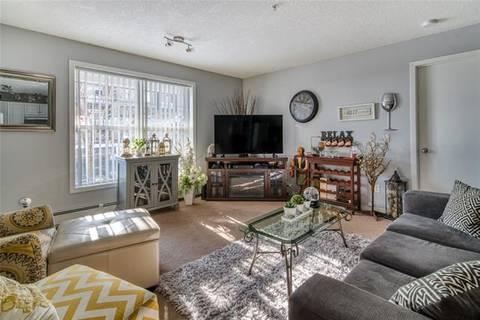 Condo for sale at 2000 Applevillage Ct Southeast Unit 109 Calgary Alberta - MLS: C4245556
