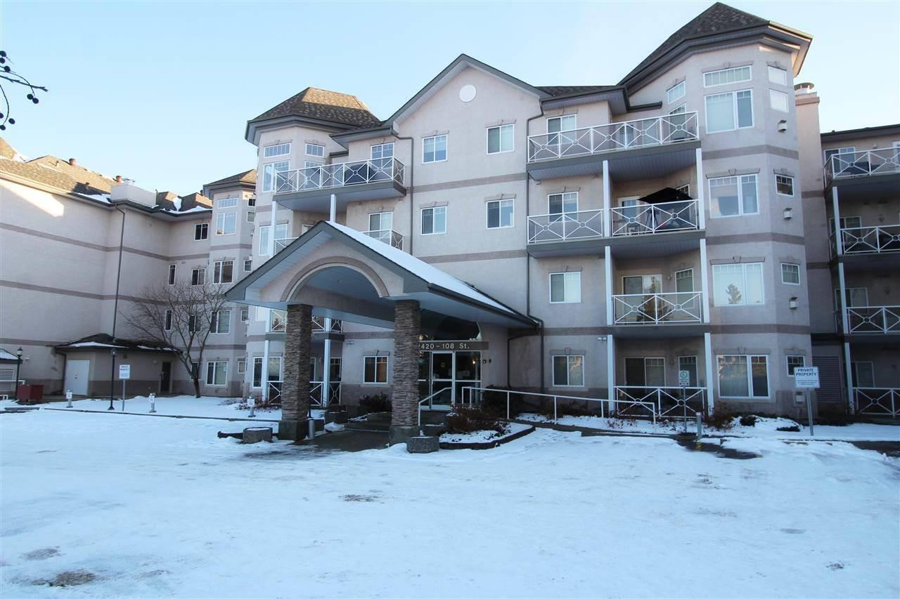 Condo for sale at 2420 108 St Nw Unit 109 Edmonton Alberta - MLS: E4179899