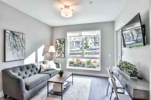 Condo for sale at 3365 4th Ave E Unit 109 Vancouver British Columbia - MLS: R2387565