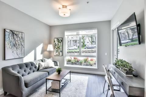 Condo for sale at 3365 4th Ave E Unit 109 Vancouver British Columbia - MLS: R2387565