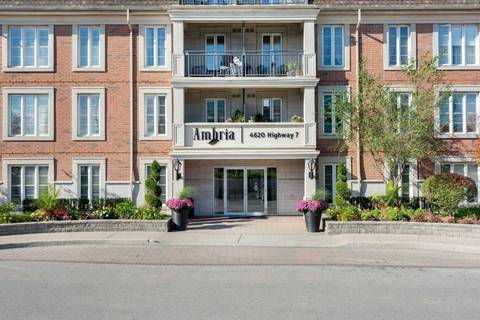 Apartment for rent at 4620 Highway 7 Hy Unit 109 Vaughan Ontario - MLS: N4666334
