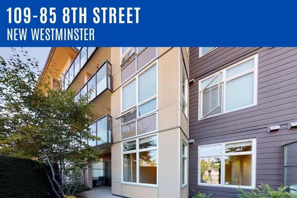 Apartment for rent at 85 8th St Unit 109 New Westminster British Columbia - MLS: R2492596