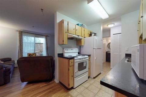 Condo for sale at 9312 104 Ave Nw Unit 109 Edmonton Alberta - MLS: E4138888