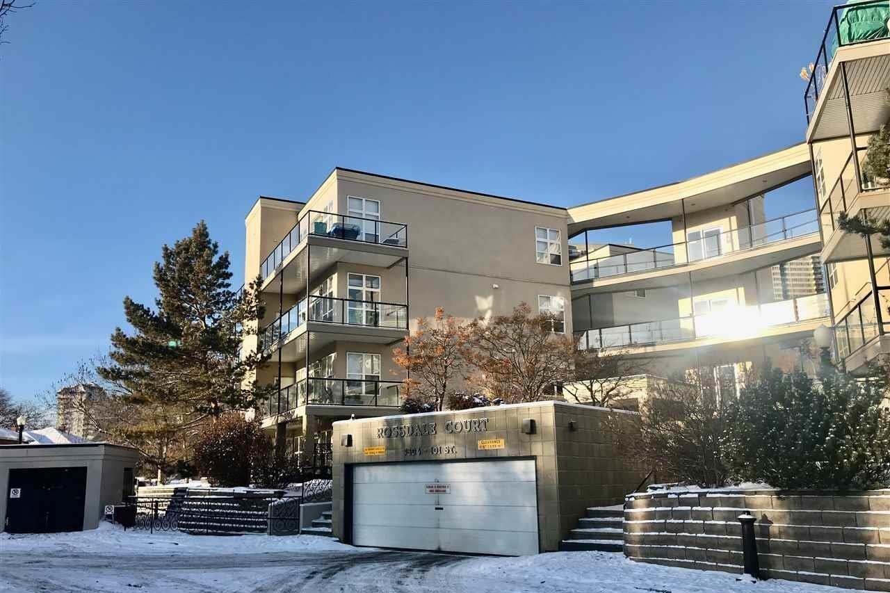 Condo for sale at 9804 101 St NW Unit 109 Edmonton Alberta - MLS: E4223455