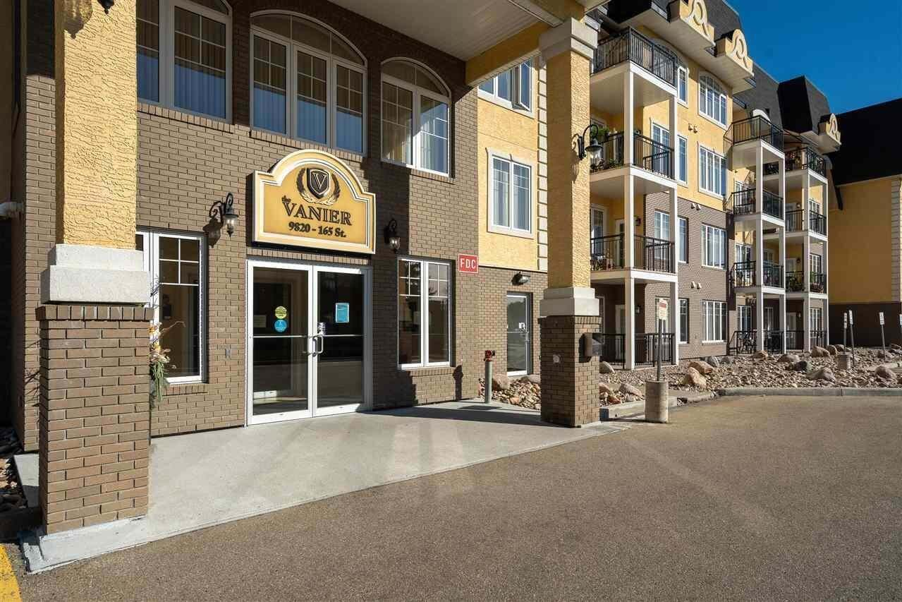 Condo for sale at 9820 165 St NW Unit 109 Edmonton Alberta - MLS: E4215873