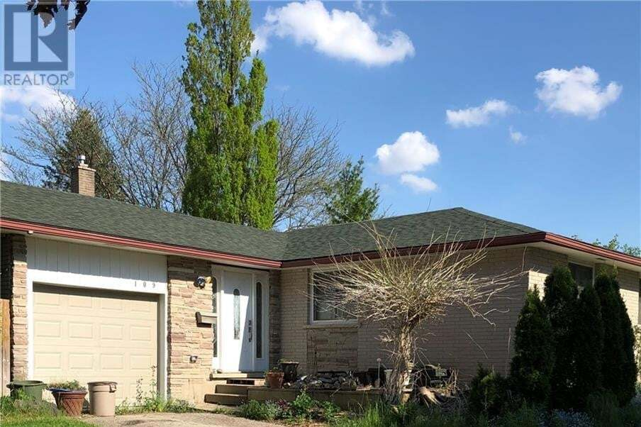 House for sale at 109 Bedford Dr Stratford Ontario - MLS: 30809068