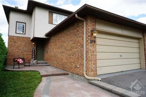 House for sale at 109 Borga Cres Ottawa Ontario - MLS: 1204034