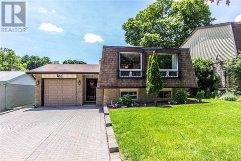 House for sale at 109 Coach Hill Dr Kitchener Ontario - MLS: 30746263
