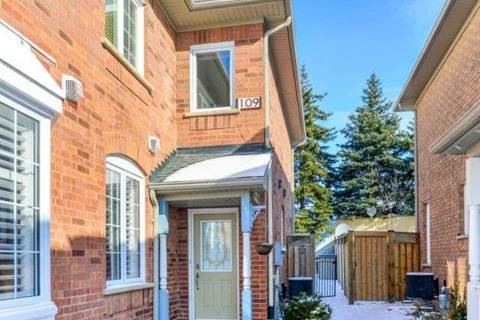 Townhouse for sale at 109 Desert Sand Dr Brampton Ontario - MLS: W4687856