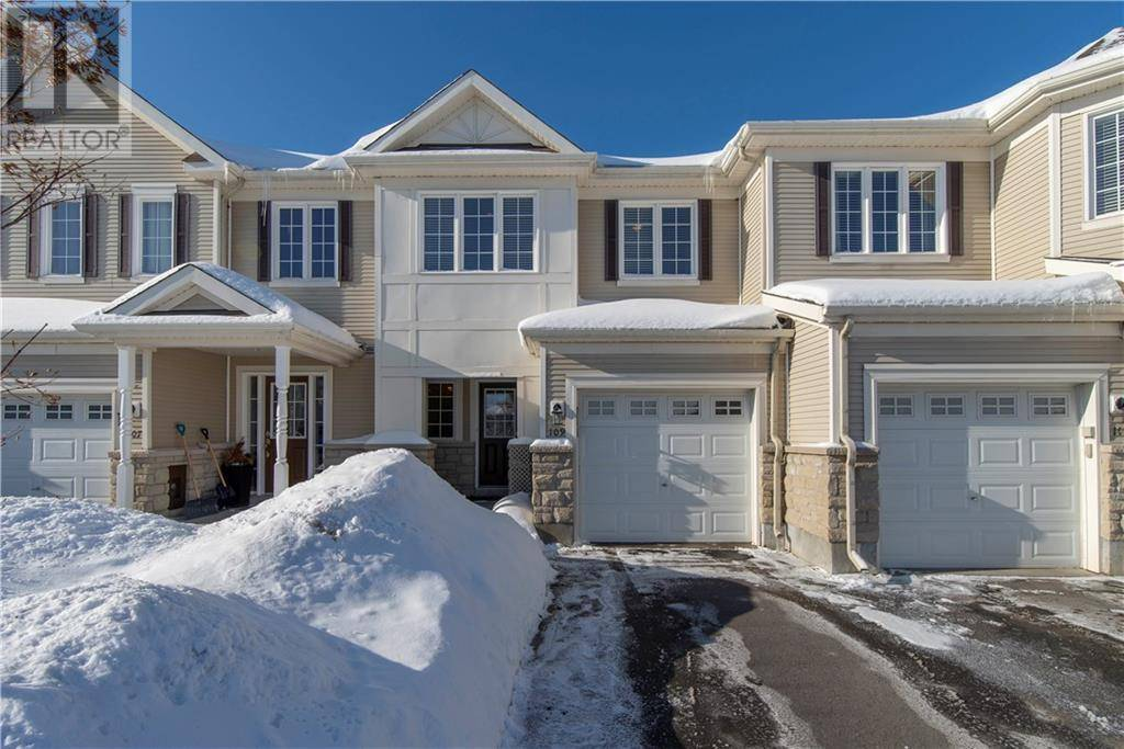 Townhouse for sale at 109 Goldwood Pt Nepean Ontario - MLS: 1183244