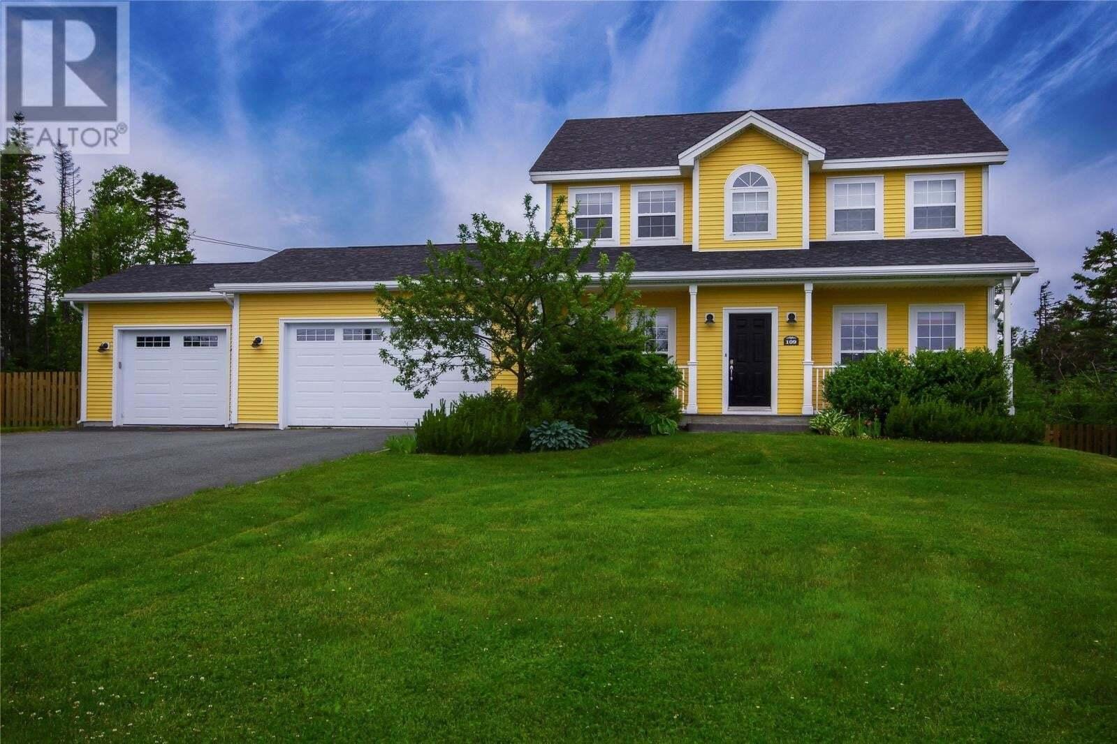 House for sale at 109 Karon Dr Torbay Newfoundland - MLS: 1217216