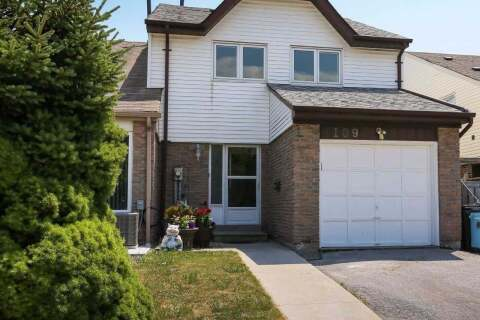 Townhouse for sale at 109 Purvis Cres Toronto Ontario - MLS: E4823342