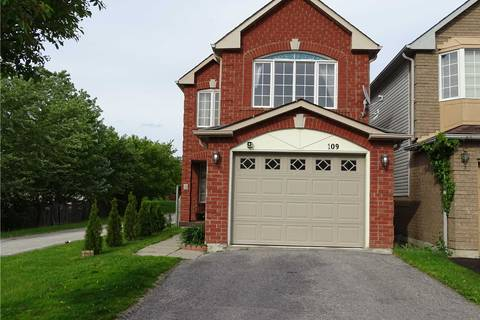 House for sale at 109 Smales Dr Ajax Ontario - MLS: E4490400