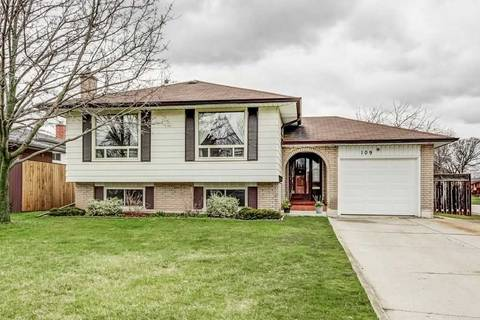 House for sale at 109 Stoney Brook Dr Hamilton Ontario - MLS: X4419430