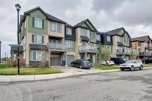 Townhouse for sale at 109 Windstone Av SW Windsong, Airdrie Alberta - MLS: C4297083