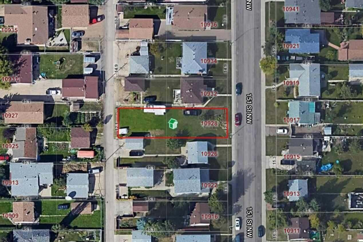 Residential property for sale at 10928 151 St NW Edmonton Alberta - MLS: E4192665
