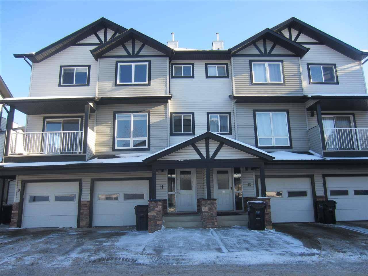 Townhouse for sale at 11 Cloverbar Ln Unit 11 Sherwood Park Alberta - MLS: E4185186