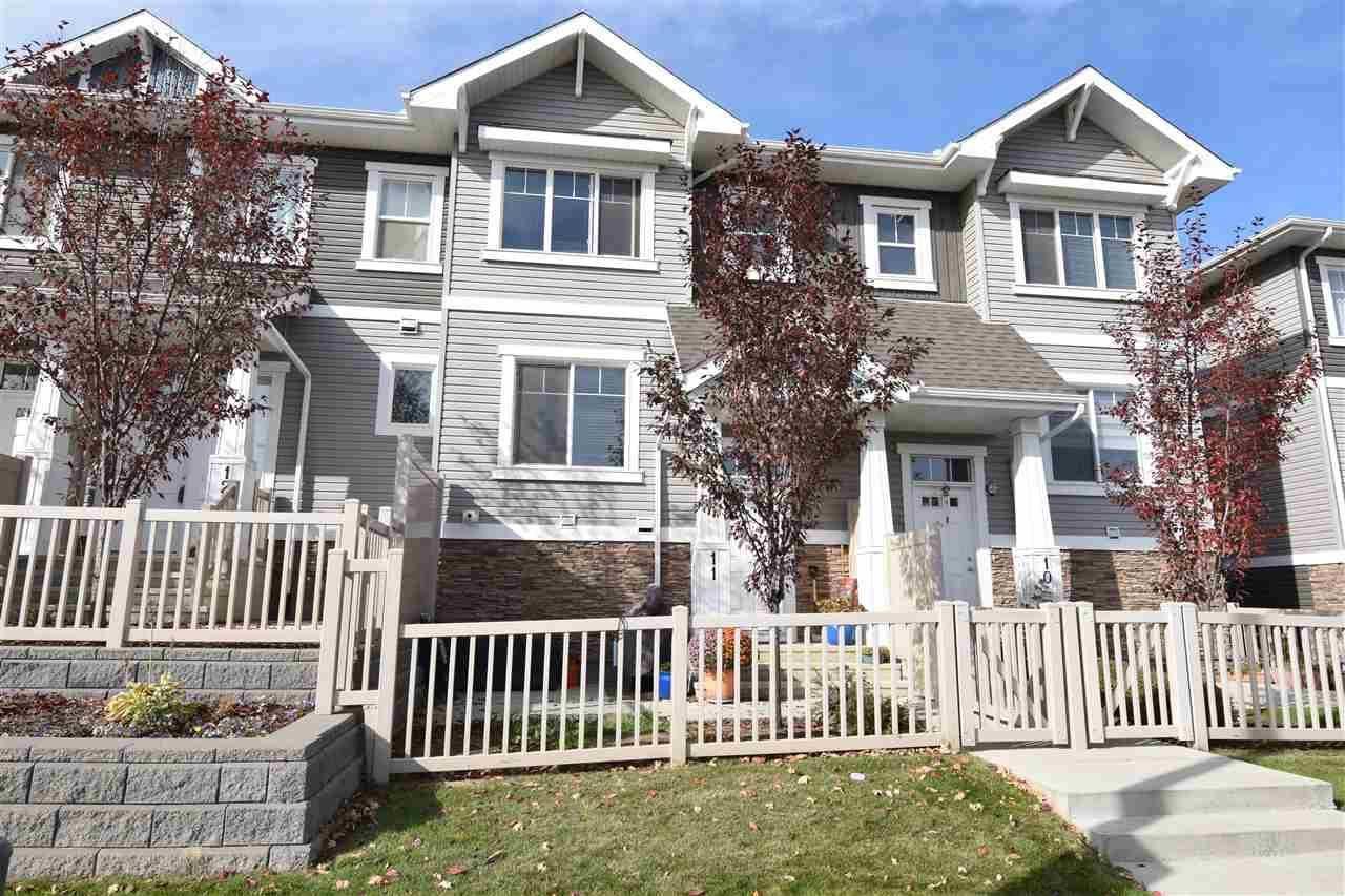 Townhouse for sale at 1140 Chappelle Blvd Sw Unit 11 Edmonton Alberta - MLS: E4176398