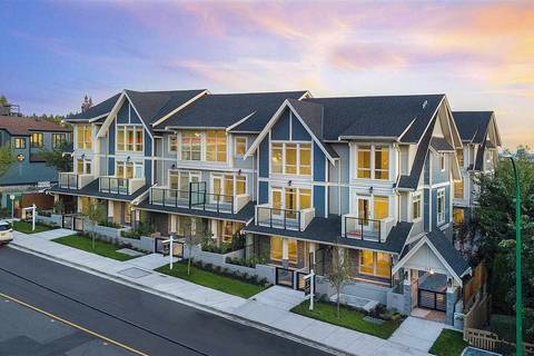Townhouse for sale at 115 Queens Rd W Unit 11 North Vancouver British Columbia - MLS: R2409068