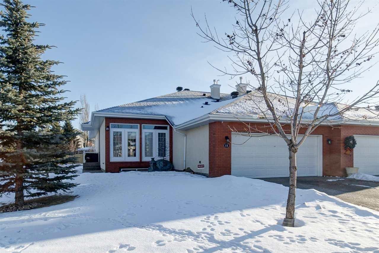 Townhouse for sale at 1225 Wanyandi Rd NW Unit 11 Edmonton Alberta - MLS: E4225395