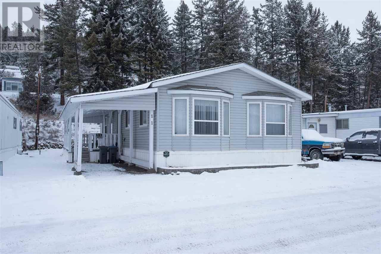 Home for sale at 1700 Broadway Ave S Unit 11 Williams Lake British Columbia - MLS: R2435373