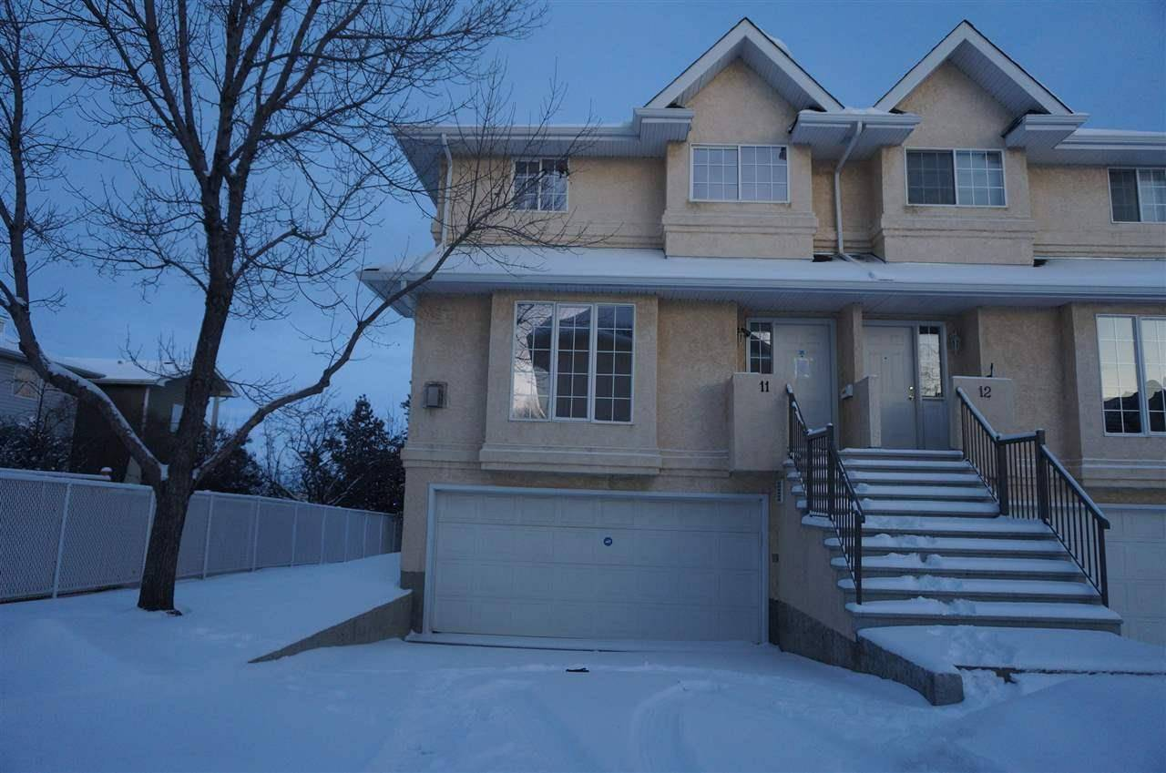 Townhouse for sale at 2419 133 Ave Nw Unit 11 Edmonton Alberta - MLS: E4186143